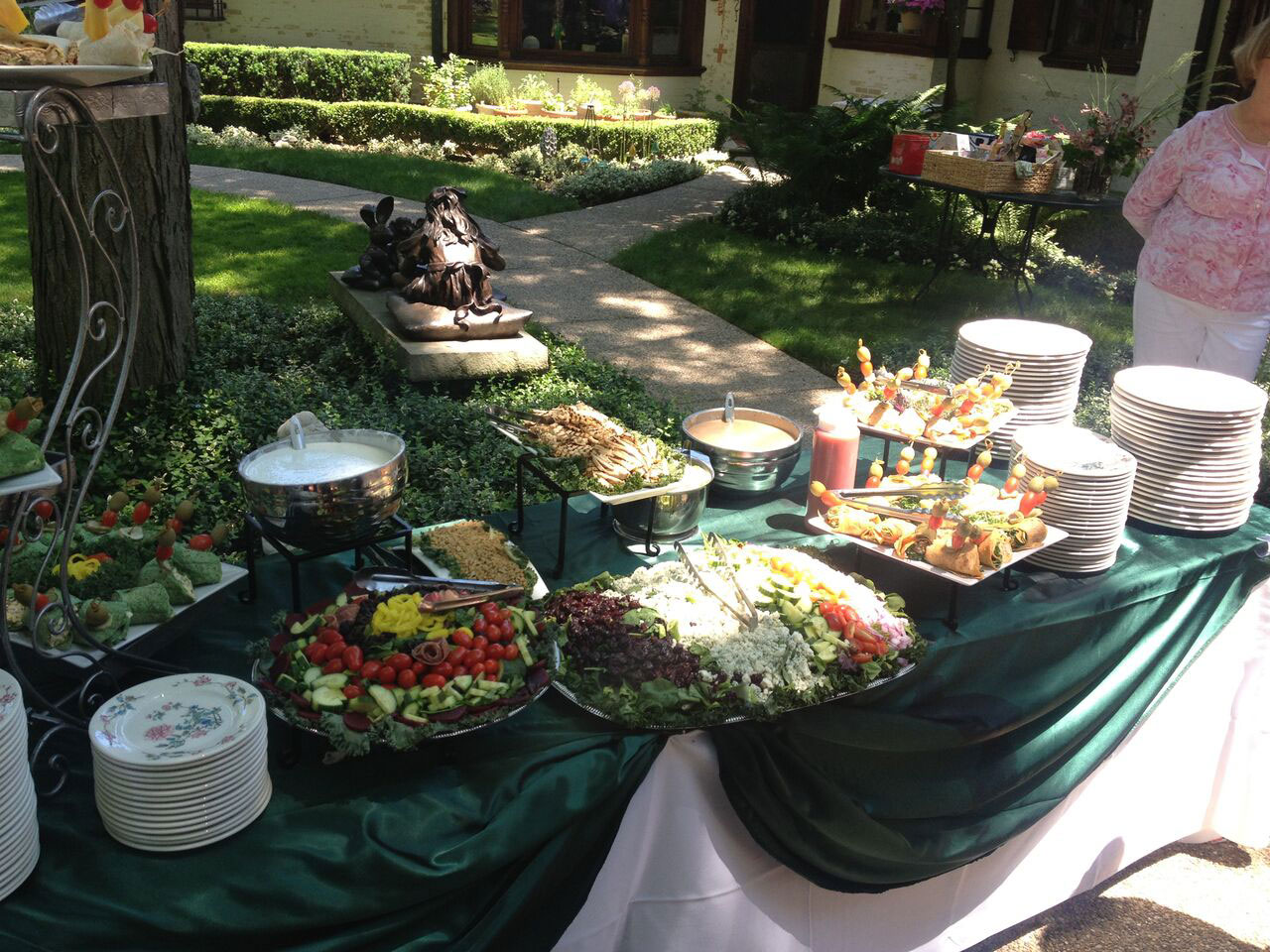 Let Us Cater Your Next Event! With Extensive Menus And Specialties, We Will  Customize To Your Catering Needs, Making Your Event A Truly Festive  Occasion.